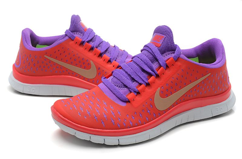 755e743b3d2 2013 Cheap Nike Free 3.0 V4 Purple Pink Womens shoes