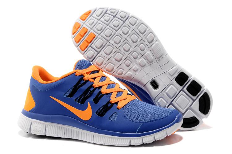 2013 Nike Free 5.0 V2 Red Blue Orange Mens shoes 4e8a2b0203