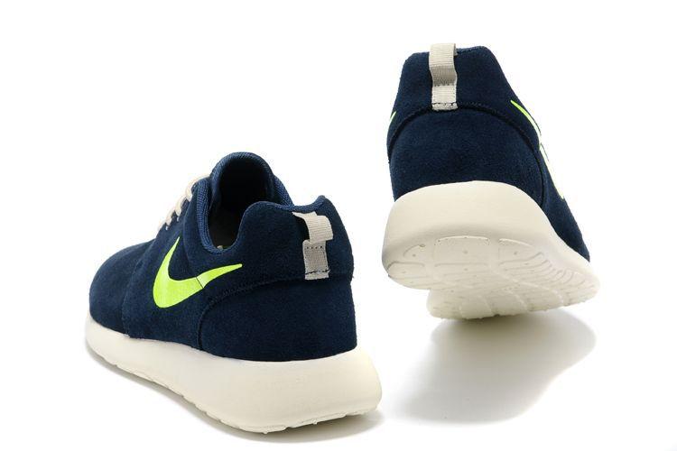 db46104b828d Hot Sale New Cheap Nike Roshe Run Mens Deep Purple Green Shoes