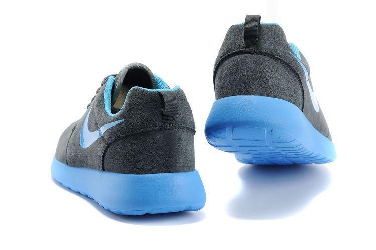 promo code 955c7 bfa86 New Cheap Nike Roshe Run Lover Gray Blue Shoes