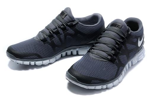 buy popular 35386 92cc0 Nike Free 3.0 V3 Mens Shoes White Grey