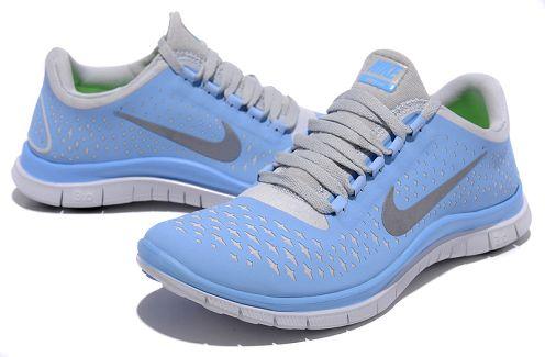 7123e7c6db4d ... Nike Free 3.0 V4 Womens Running Shoe Photo Blue Reflective Silver ...