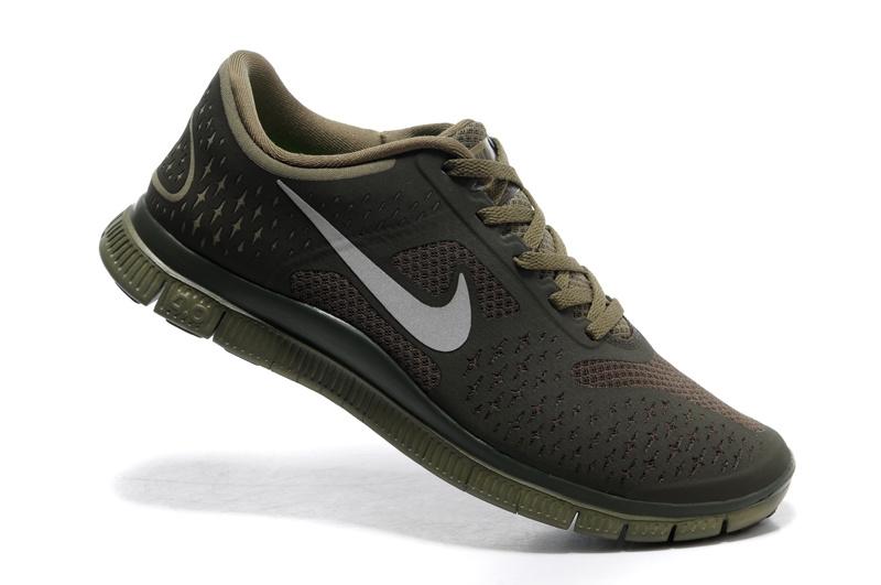 7cf007fd90a1 Nike Free 4.0 V2 Iguana Reflective Silver Cargo Khaki Mens